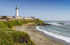California lighthouse Royalty Free Stock Image
