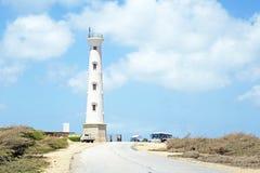 California LIghthouse on Aruba island Royalty Free Stock Image