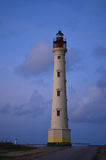 California Lighthouse in Noord Aruba Stock Image