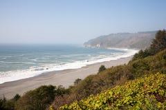 california linia brzegowa obraz stock
