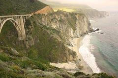 california linia brzegowa Zdjęcia Royalty Free