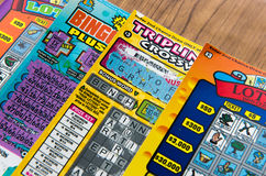 California lottery game stock images