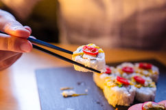 California Maki Stock Image