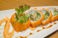 California maki rolls Stock Photography