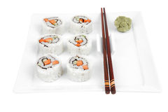 California Maki Sushi Roll Stock Photography