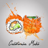 California maki Stock Photography