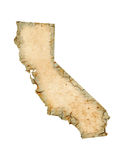 California Map Royalty Free Stock Image