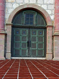 California mission door Royalty Free Stock Photography