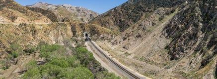 California Mountain Railroad Tunnel Stock Photos