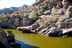 California mountain top reservoir Stock Image