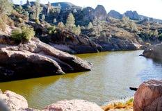 California mountain top reservoir Stock Photo
