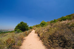 California Mountain trail Royalty Free Stock Images