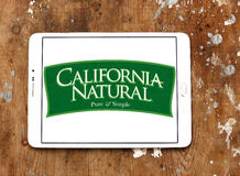 California natural pet food logo Royalty Free Stock Images
