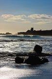 california oceanu Pacific zmierzch zdjęcia stock