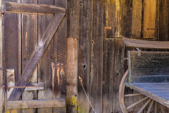 California old far west wooden textures Stock Image