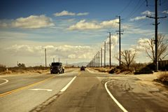 California Outback Stock Images