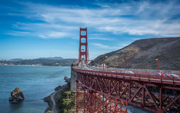 California Pacific Coast Highway bridge Royalty Free Stock Photo