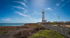 California Pacific Coast Highway lighthouse Royalty Free Stock Image