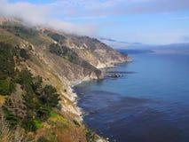 California Pacific Coast. Scenic view of California Pacific coast Royalty Free Stock Photo