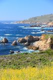 California Pacific coast Royalty Free Stock Photography