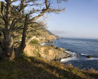 California Pacific Ocean Coast Royalty Free Stock Photography