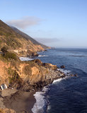 California Pacific Ocean Coast Royalty Free Stock Photo