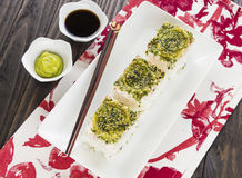 California Pan Sushi Royalty Free Stock Images
