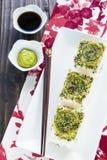 California Pan Sushi Royalty Free Stock Image