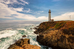 California Pigeon point Lighthouse in Cabrillo Hwy Stock Photos