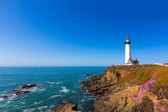 Free California Pigeon Point Lighthouse In Cabrillo Hwy Coastal Hwy 1 Royalty Free Stock Photography - 37500607