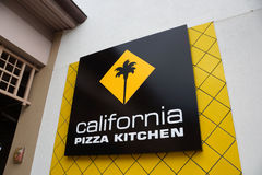 California Pizza Kitchen Logo of food establishment at the Ala M Stock Photography