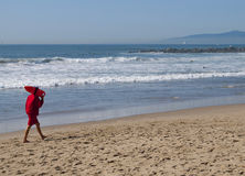 california plażowy ratownik Venice Fotografia Royalty Free