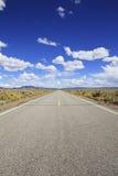 california pustyni autostrada Zdjęcia Royalty Free