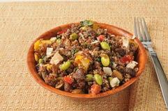 California quinoa salad Royalty Free Stock Photo