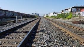 California Railroad Tracks Stock Photo
