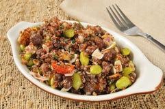 California red quinoa salad Stock Photo