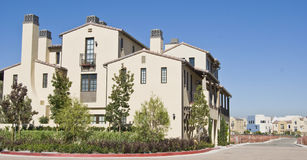 California residential block Stock Image