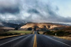 California, Road, Highway Stock Photos