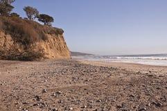 California Rocky Beach Royalty Free Stock Photos