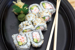 California Roll royalty free stock photography