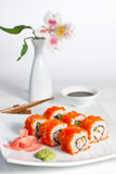 California roll Royalty Free Stock Images