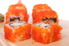 California roll. crab Royalty Free Stock Images