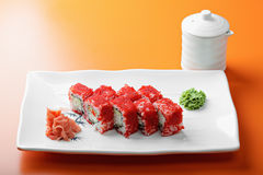 California roll with crab Royalty Free Stock Images