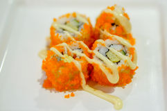 California roll Stock Image