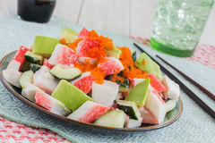 California Roll Poke Royalty Free Stock Images
