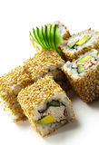California Roll with Sesame Stock Photography