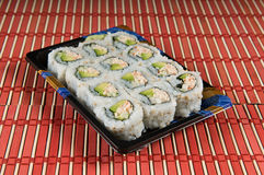 California roll sushi Stock Images