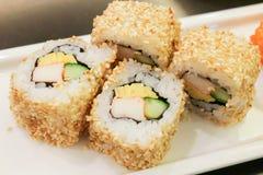 California roll sushi maki Stock Image