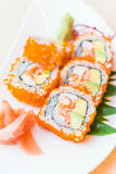 California roll sushi maki Stock Photography