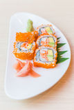 California roll sushi maki Stock Images